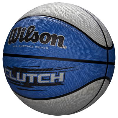 Wilson Clutch Basketball SS18 - Blue - Angled