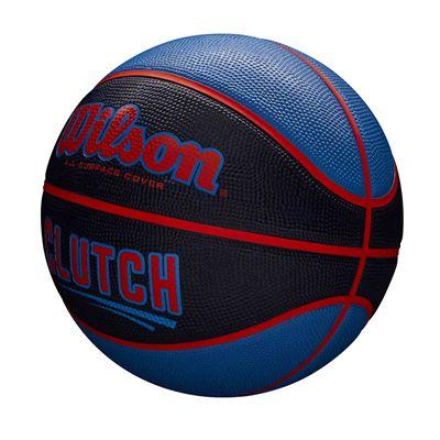Wilson Clutch Basketball SS19 - Black/Blue - Side