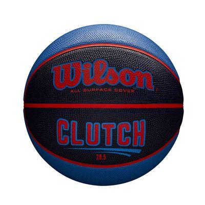 Wilson Clutch Basketball SS19 - Black/Blue - Size 6