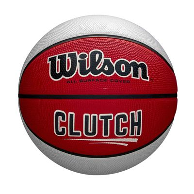 Wilson Clutch Basketball SS19 - Red White