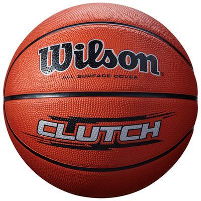 Wilson Clutch Basketball-Brown