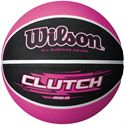 Wilson Clutch Basketball-Pink and Black