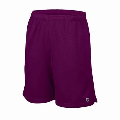 Wilson Core 7 Knit Boys Shorts - Purple
