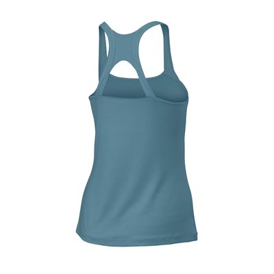 Wilson Core Classic Ladies Tank Top - Blue/Side
