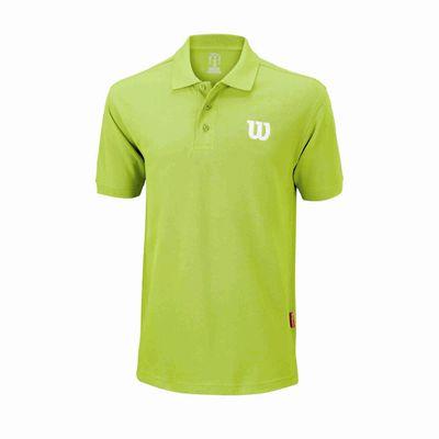 Wilson Core Cotton W Mens Polo Shirt - Green