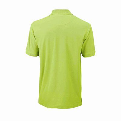 Wilson Core Cotton W Mens Polo Shirt - Green/Back