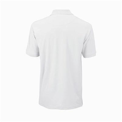 Wilson Core Cotton W Mens Polo Shirt - White