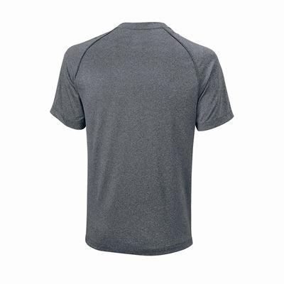 Wilson Core Crew Mens T-Shirt - Grey/Back
