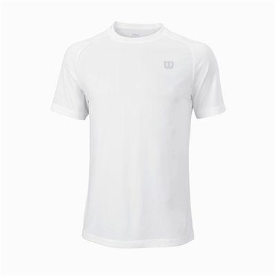 Wilson Core Crew Mens T-Shirt - White