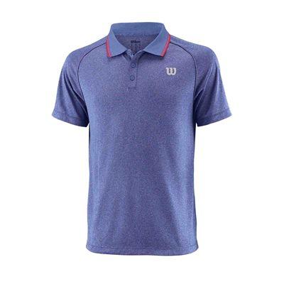 Wilson Core Mens Polo Shirt SS18 - Blue