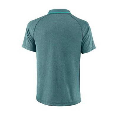 Wilson Core Mens Polo Shirt SS18 - Green - Back