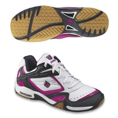 Wilson Court Elite 800 Ladies Indoor Court Shoes