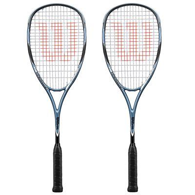 Wilson CS Command Squash Racket Double Pack