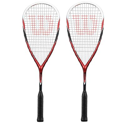 Wilson CS Hybird Squash Racket Double Pack