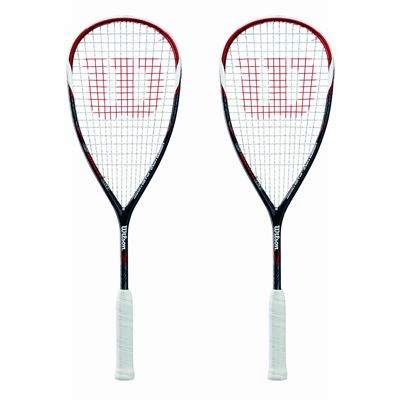 Wilson CS Muscle 160 Squash Racket Double Pack SS17