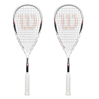 Wilson CS Muscle 160 Squash Racket Double Pack