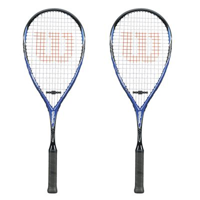 Wilson CS Muscle 190 Squash Racket Double Pack