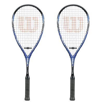 Wilson CS Muscle 190 Squash Racket Double Pack