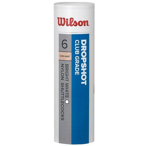 Wilson Dropshot Shuttlecocks - Tube of 6