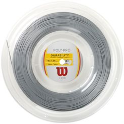 Wilson Durability Poly Pro Tennis String - 200m Reel