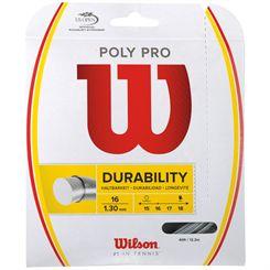 Wilson Durability Poly Pro Tennis String Set
