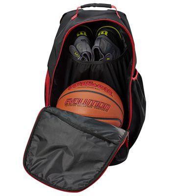 Wilson Evolution Backpack - Black - Open