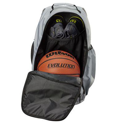 Wilson Evolution Backpack - Grey - Open