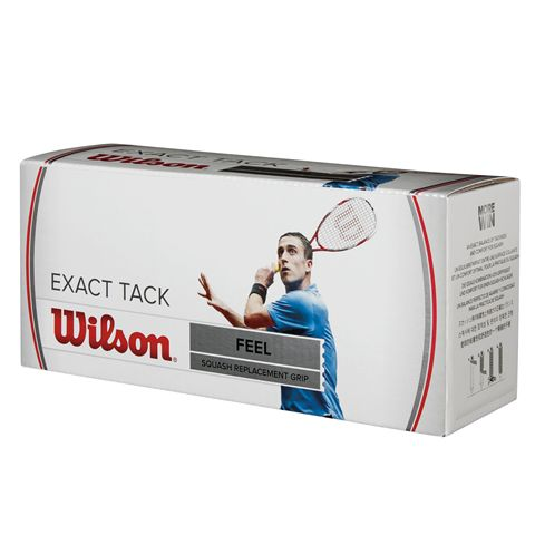 Wilson Exact Tack Squash Grips - Box of 24