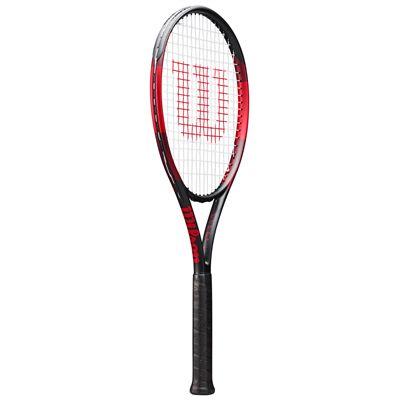 Wilson F-Tek 100 Tennis Racket - Angled