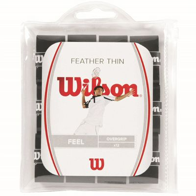 Wilson Feather Thin Overgrip - Pack of 12