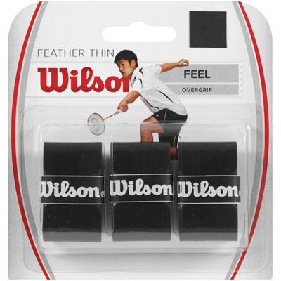 Wilson Feather Thin Overgrip - Pack of 3