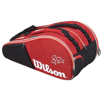 Wilson Federer Court 15 Racket Bag - Front