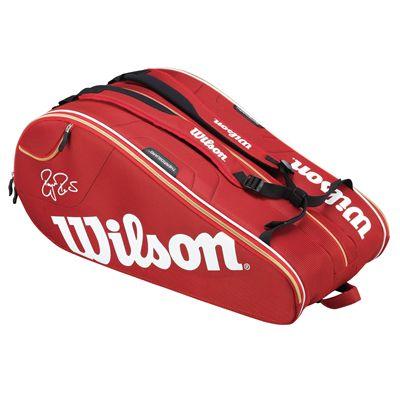 Wilson Federer Court 15 Racket Bag - Back