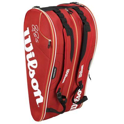 Wilson Federer Court 15 Racket Bag - Standing