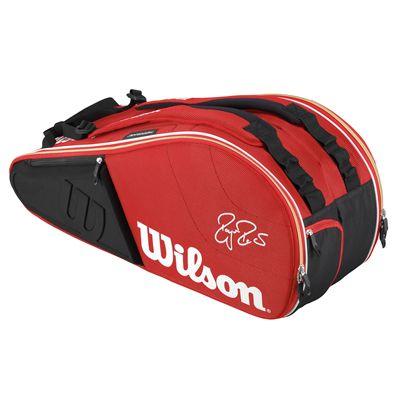 Wilson Federer Court 9 Racket Bag - Front