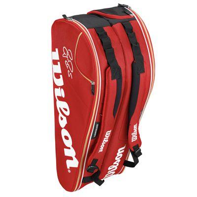 Wilson Federer Court 9 Racket Bag - Standing