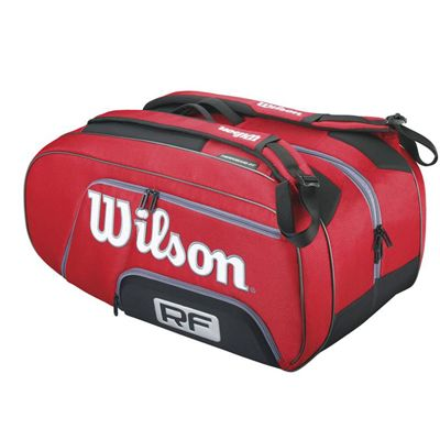 Wilson Federer Elite 12 Racket Bag - Side View