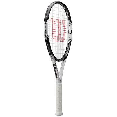 Wilson Federer Pro 105 Tennis Racket - Angled