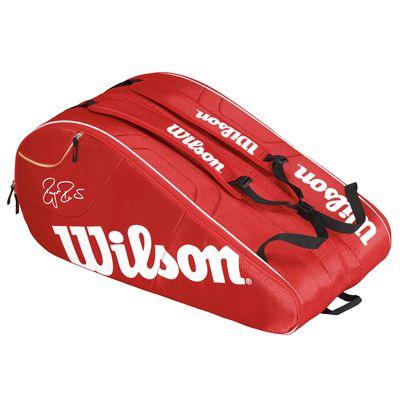 Wilson Federer Team 12 Racket Bag - Back