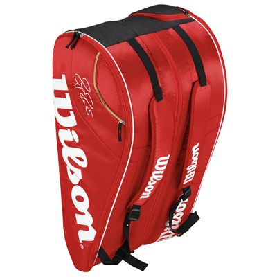 Wilson Federer Team 12 Racket Bag - Standing
