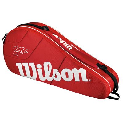Wilson Federer Team 3 Racket Bag - Front
