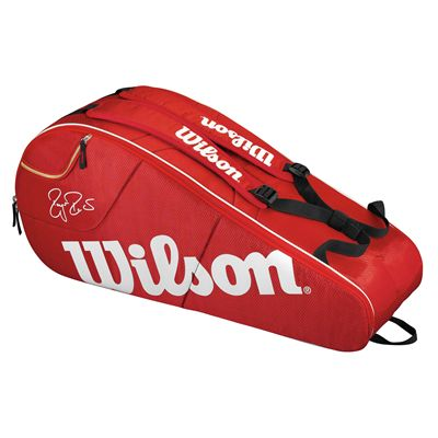 Wilson Federer Team 6 Racket Bag - Back
