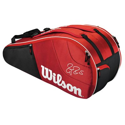 Wilson Federer Team 6 Racket Bag - Front