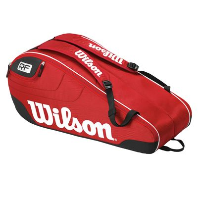 Wilson Federer Team III 6 Racket Bag - Side