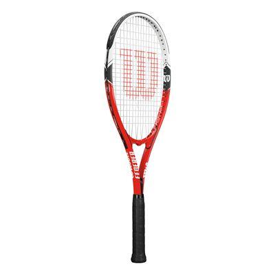 Wilson Federer Tennis Racket - Side view