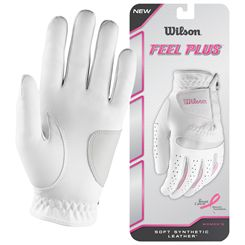 Wilson Feel Plus Ladies Golf Glove
