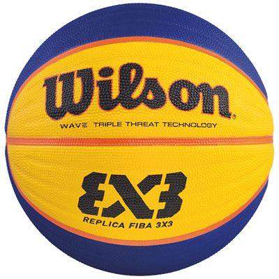 Wilson FIBA 3x3 Replica Rubber Basketball