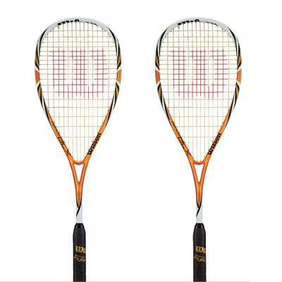 Wilson Fierce BLX Squash Racket Double Pack