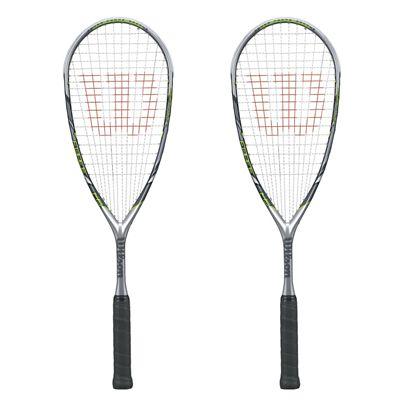Wilson Force 145 BLX Squash Racket Double Pack 2014