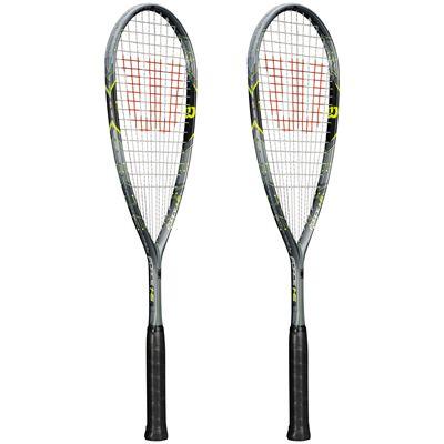 Wilson Force 145 BLX Squash Racket Double Pack - Site